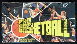 1976-77 Topps Basketball Full Unopened Wax Box BBCE