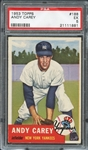 1953 Topps #188 Andy Carey PSA 5 EX