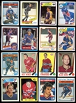 1960s-1980s Hockey Group of Approximately (400) with Stars and a Near Complete 1982/83 OPC Set