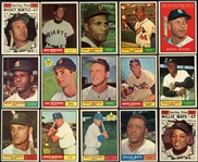 1961 Topps Near Complete (584/589) Mid to Higher Grade