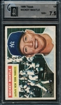 1956 Topps #135 Mickey Mantle GAI 7.5 NM+