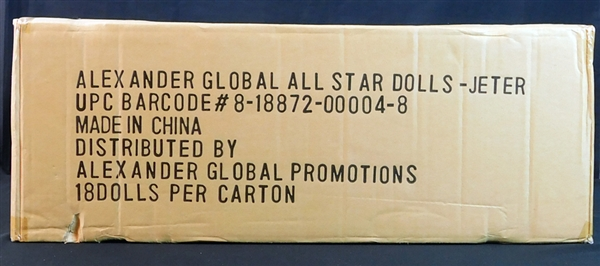2001 Derek Jeter Bobble Dobble Bobbing Head Doll From All Star Game Full Unopened Case of (18)