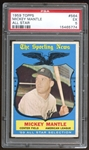 1959 Topps #564 Mickey Mantle All Star PSA 5 EX