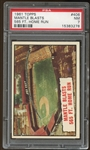 1961 Topps #406 Mickey Mantle HL PSA 7 NM