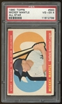1960 Topps #563 Mickey Mantle All Star PSA 4 VG-EX