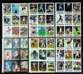 2006-2012 Sports Illustrated for Kids Group of (20) 9-Card Sheets with Trout, Brady, Woods, Etc.