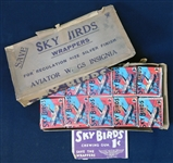 Astonishing 1933 R136 National Chicle Sky Birds Original Unopened Wax Box with (87) Unopened Packs