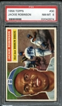 1956 Topps #30 Jackie Robinson PSA 8 NM-MT