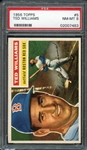 1956 Topps #5 Ted Williams PSA 8 NM-MT