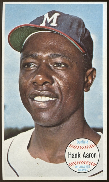 1964 Topps Giants #49 Hank Aaron