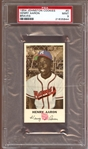 1954 Johnston Cookies #5 Hank Aaron PSA 9 MINT