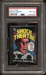1975 Topps Shock Theatre Unopened Wax Pack PSA 8 NM/MT