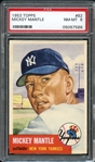 1953 Topps #82 Mickey Mantle PSA 8 NM-MT