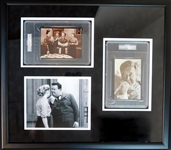 The Honeymooners Cast Multi-Signed Display PSA/DNA