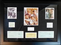 The Andy Griffith Show Cast Multi-Signed Display with (6) Signatures JSA