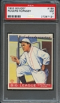 1933 Goudey #188 Rogers Hornsby PSA 7 NM
