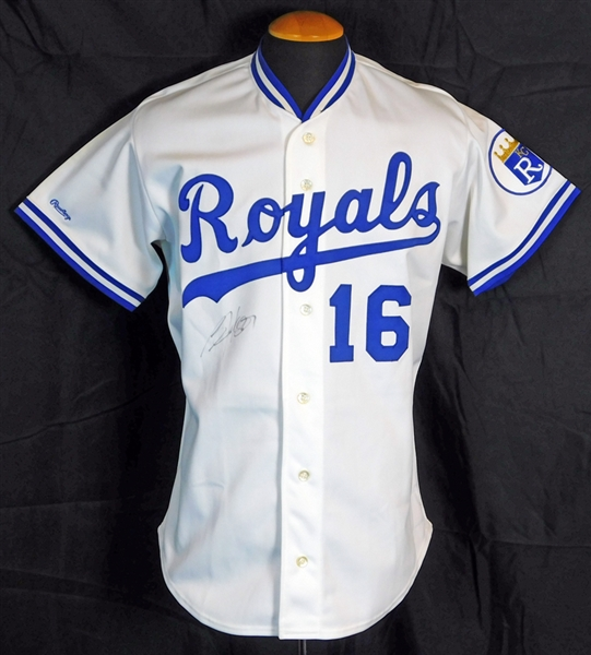 1989 Bo Jackson Kansas City Royals Game-Used and Signed- JSA