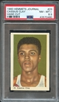 1960 Hemmets Journal #23 Cassius Clay Hand Cut PSA 8.5 NM-MT+