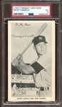 Exceptionally Rare 1954 Mascot Dog Food Mickey Mantle with Rookie Season Image PSA 5 EX
