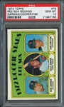 1972 Topps #79 Red Sox Rookies Garman/Cooper/Fisk PSA 10 GEM MT