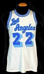 1960s Elgin Baylor Los Angeles Lakers Game-Used Home Jersey Sports Investors LOA