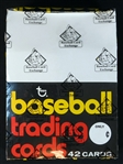 1975 Topps Baseball Full Unopened Rack Box with Brett/Yount RCs and Many Stars Showing BBCE