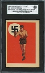 1956 Gum Products, Inc. #86 Max Schmeling Adventure-The Black Uhlan of the Rhine SGC NM+
