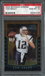 2000 Bowman Chrome #236 Tom Brady PSA 10 GEM MINT