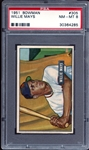 1951 Bowman #305 Willie Mays PSA 8 NM/MT