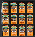 1992-93 Topps Stadium Club Basketball Series 1 Unopened Wax Pack Group of (12)
