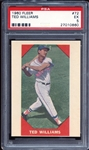 1960 Fleer #72 Ted Williams PSA 5 EX