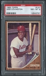 1962 Topps #157 Wes Covington PSA 8 NM-MT