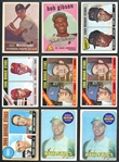1948-75 Topps and Bowman Hall of Fame Rookie Card Group of (14)