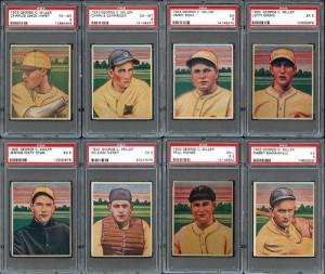 1933 George C. Miller Set #2 All-Time Finest on PSA Set Registry